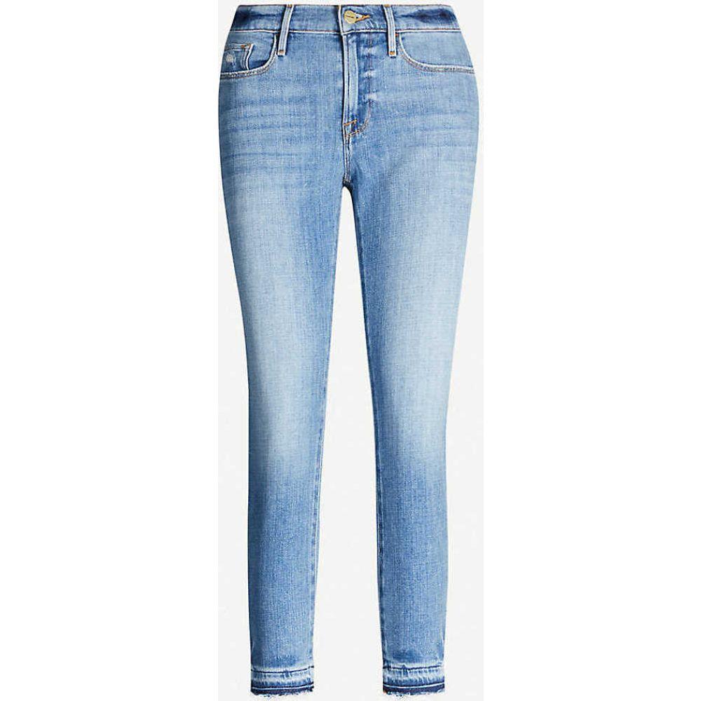 フレーム FRAME レディース ジーンズ・デニム ボトムス・パンツ【Le Garcon high-rise straight jeans】Cortez Bend