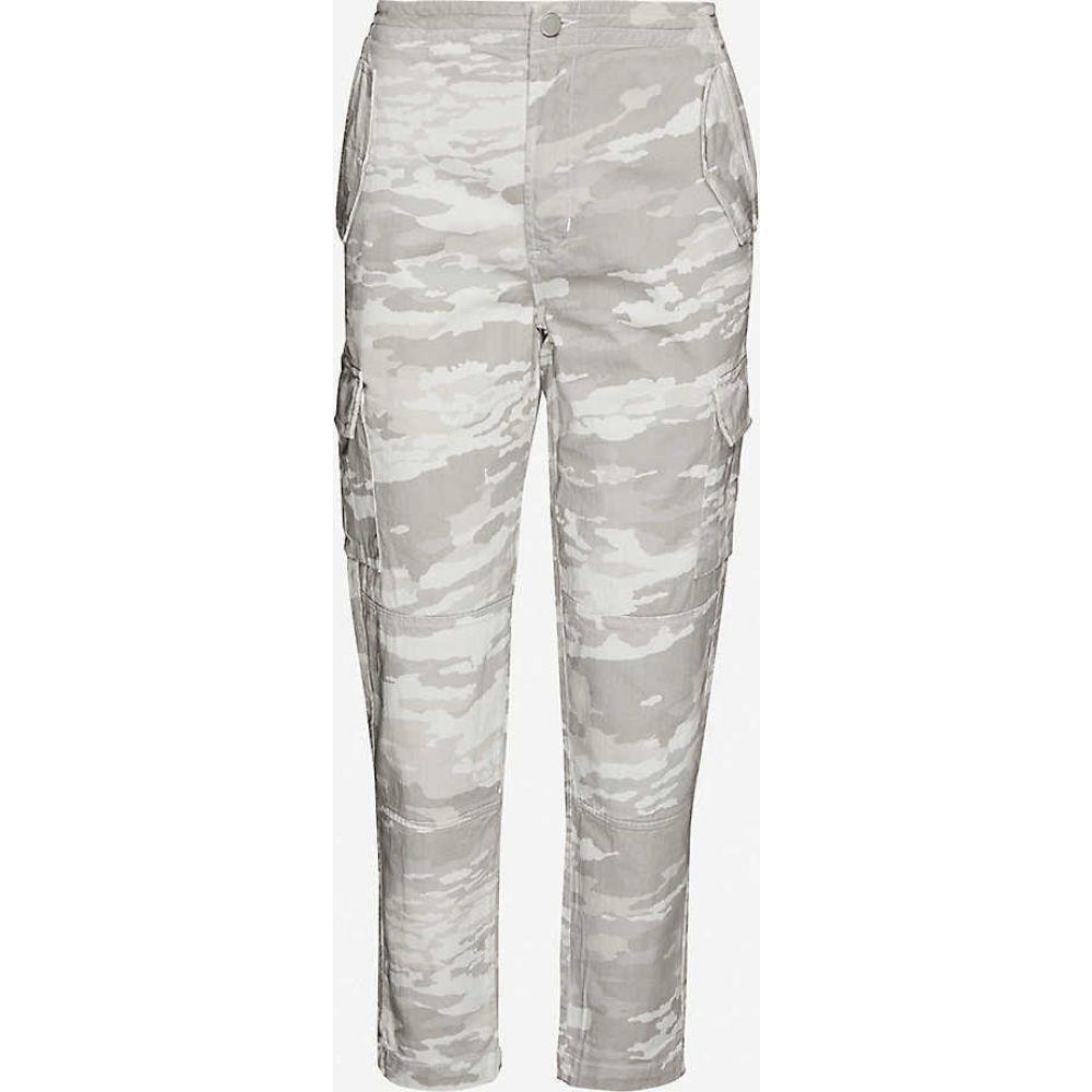 ジェイ ブランド J BRAND レディース ジーンズ・デニム ボトムス・パンツ【Camouflage-print tapered high-rise jeans】Skylight Snow Camo