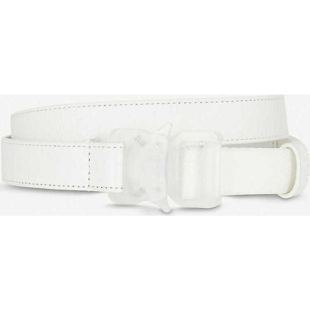 アリクス 1017 ALYX 9SM レディース ベルト 【Rollercoaster leather belt】White