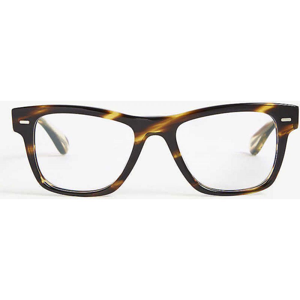 オリバーピープルズ OLIVER PEOPLES レディース メガネ・サングラス 【Ov5393u Oliver rectangle-frame optical glasses】Brown