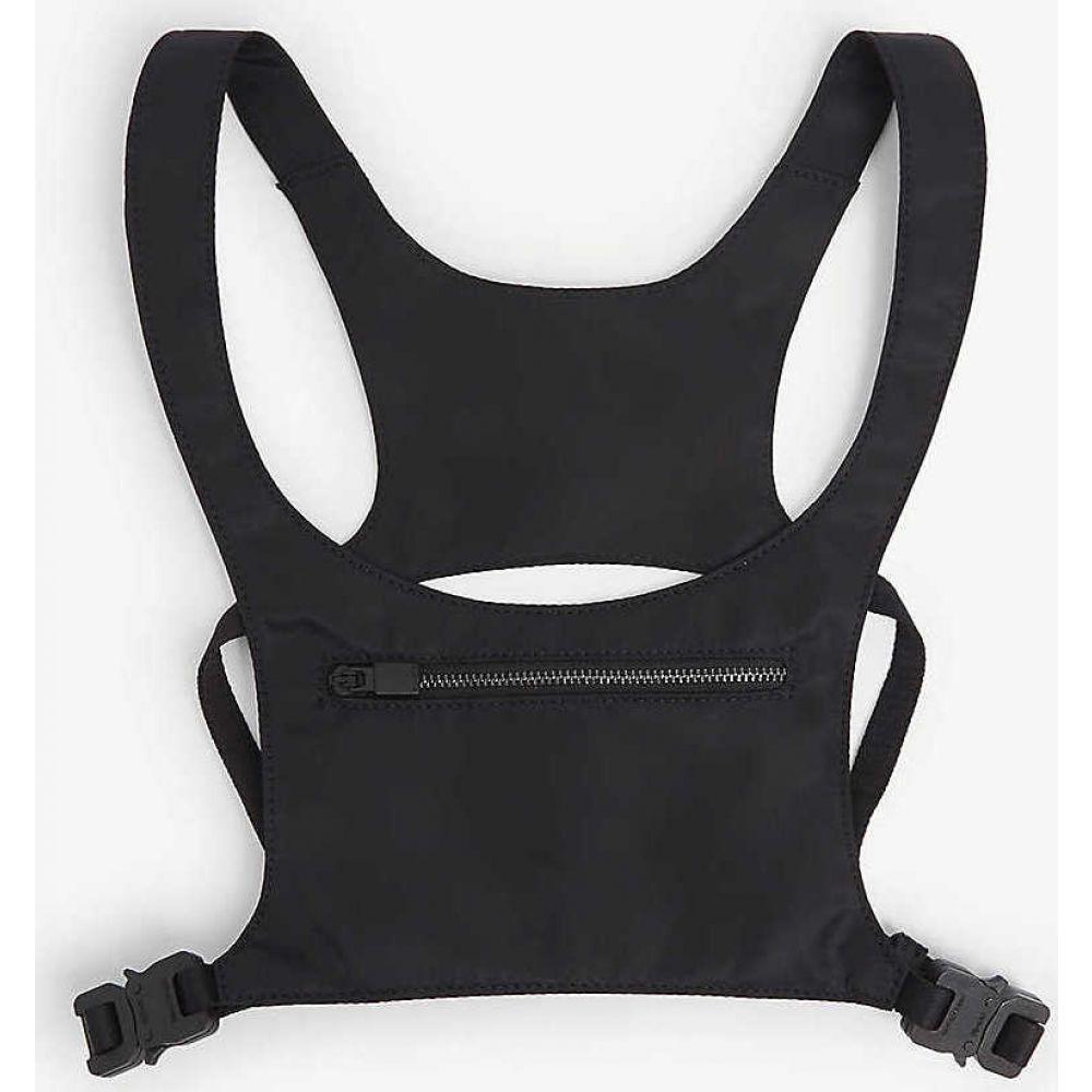 アリクス 1017 ALYX 9SM レディース ボディバッグ・ウエストポーチ バッグ【Minimal buckled leather chest rig】BLACK