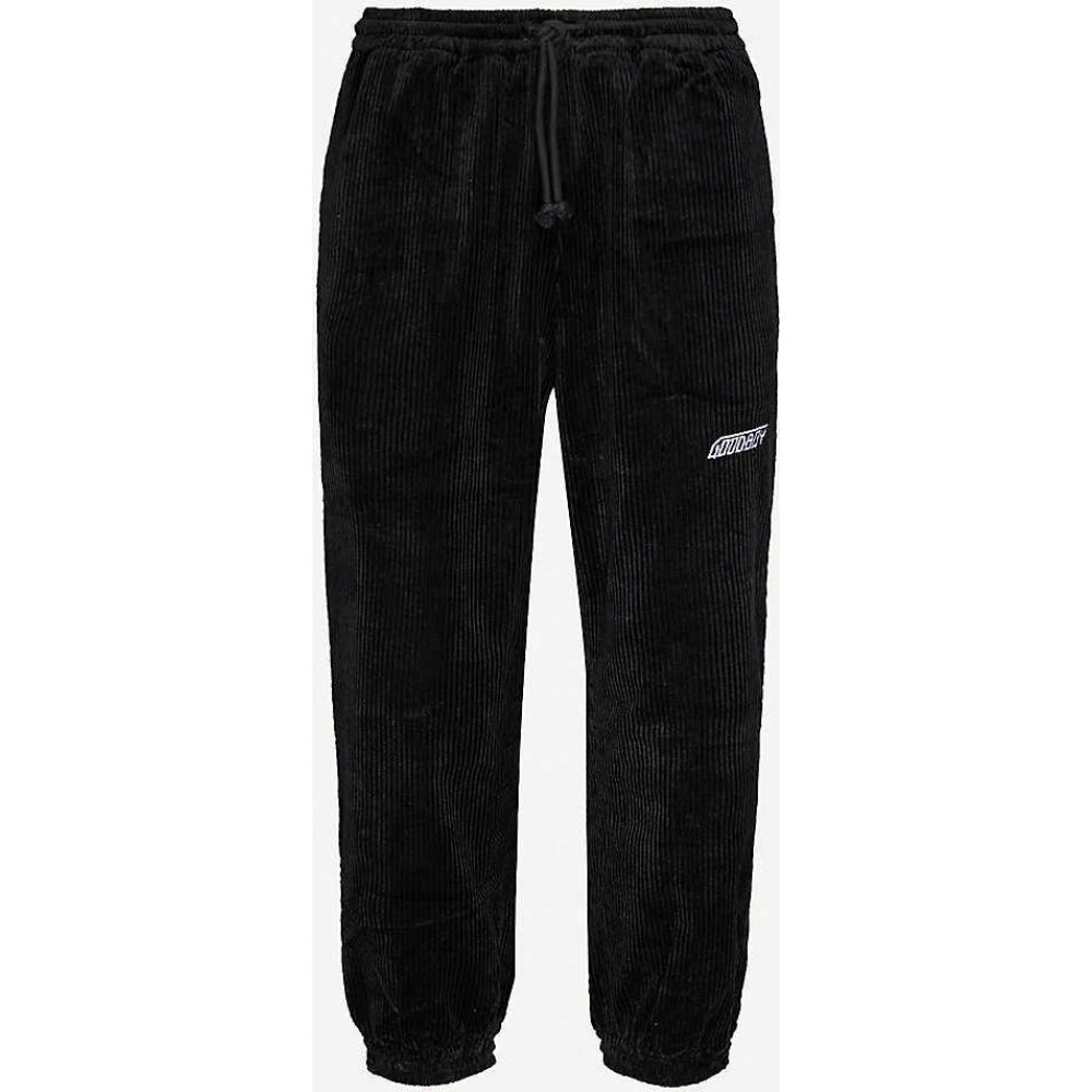 XOXOGOODBOY メンズ ボトムス・パンツ 【Tapered cotton-corduroy jogging bottoms】BLACK