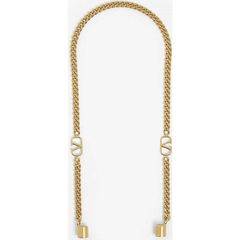 ヴァレンティノ VALENTINO GARAVANI レディース バッグストラップ バッグ【VLOGO Airpod brass chain】Gold