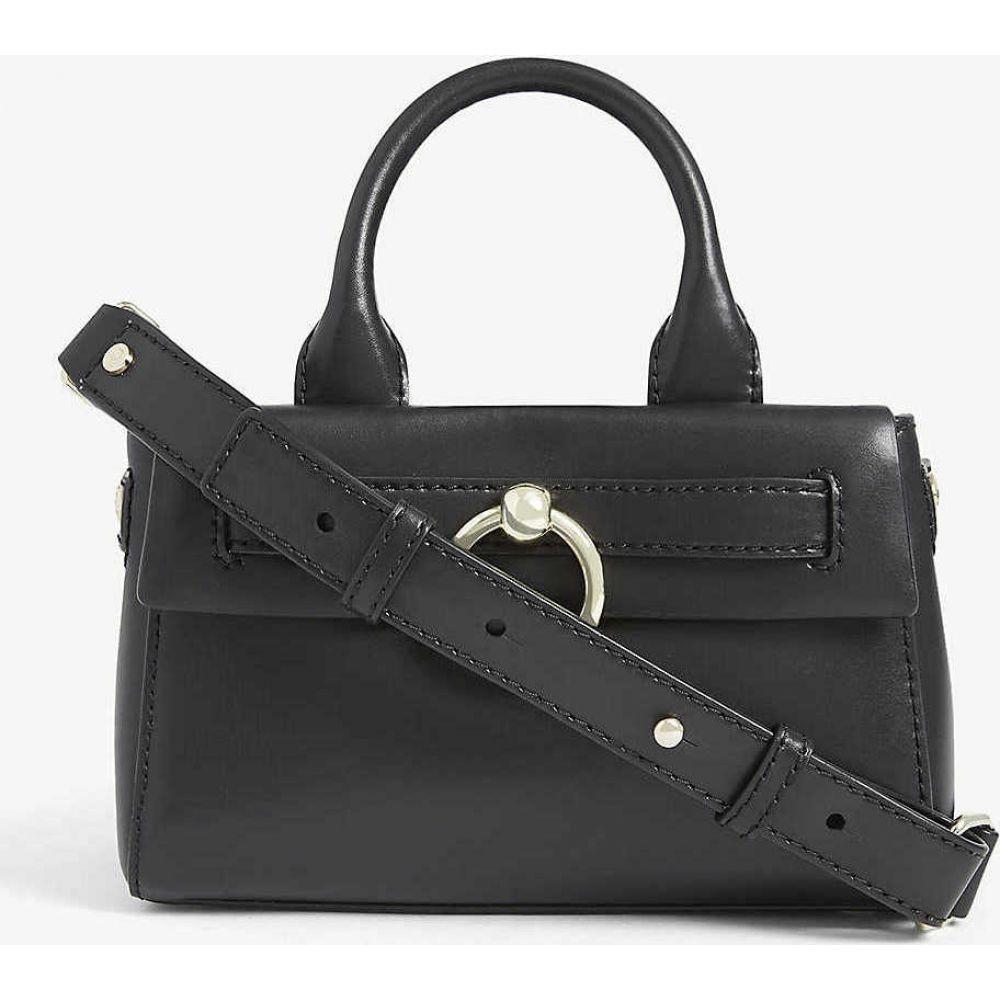 クローディ ピエルロ CLAUDIE PIERLOT レディース ショルダーバッグ バッグ【Anouck leather cross-body bag】BLACK