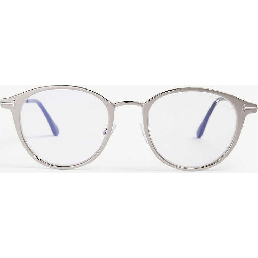 トム フォード TOM FORD レディース メガネ・サングラス 【Tf5528-B phantos frame optical glasses】Grey