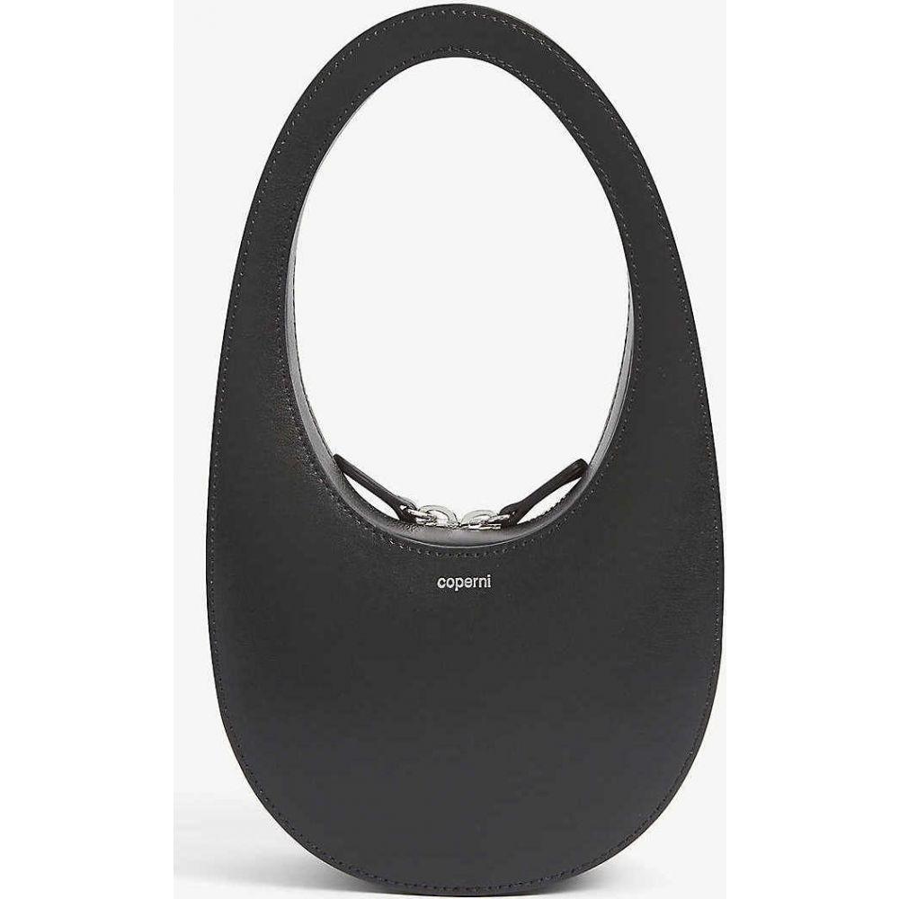 コぺルニ COPERNI レディース ショルダーバッグ バッグ【Swipe mini leather shoulder bag】Noir