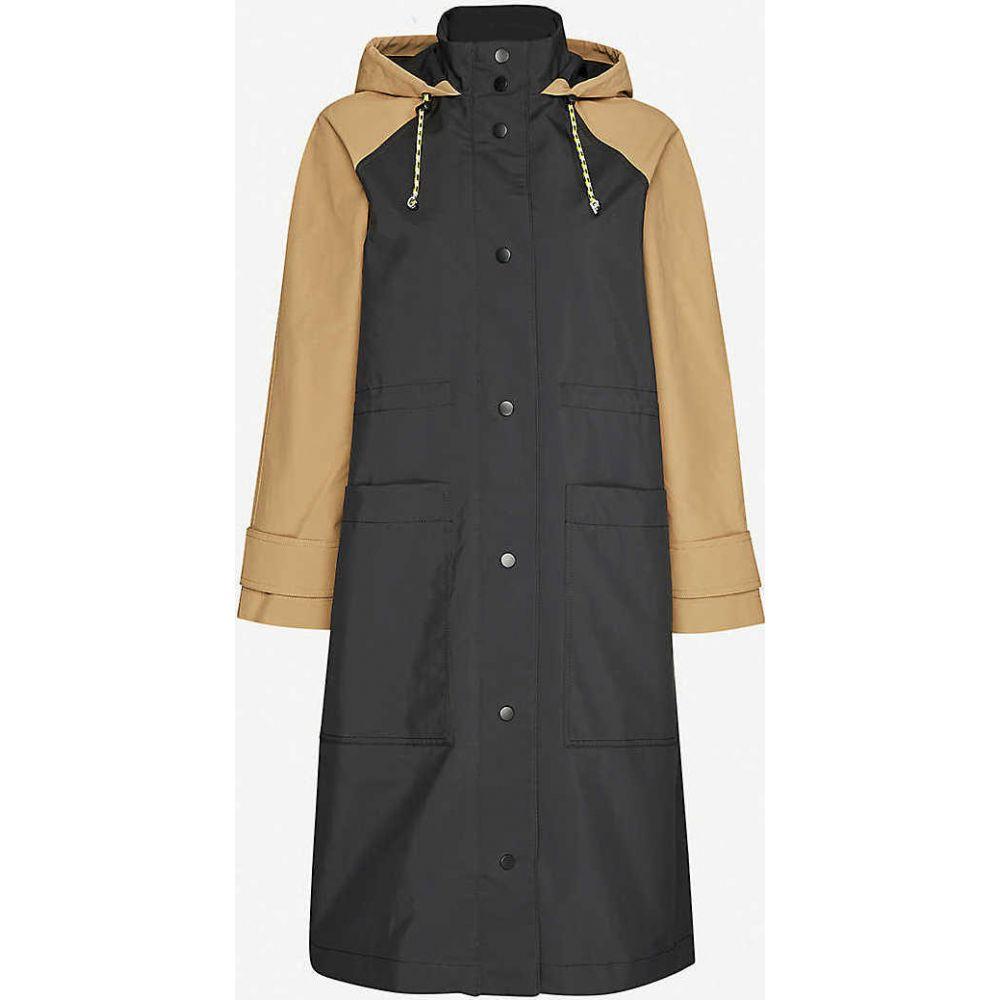 クローディ ピエルロ CLAUDIE PIERLOT レディース ジャケット フード アウター【Gipsye hooded woven jacket】BICOLORE