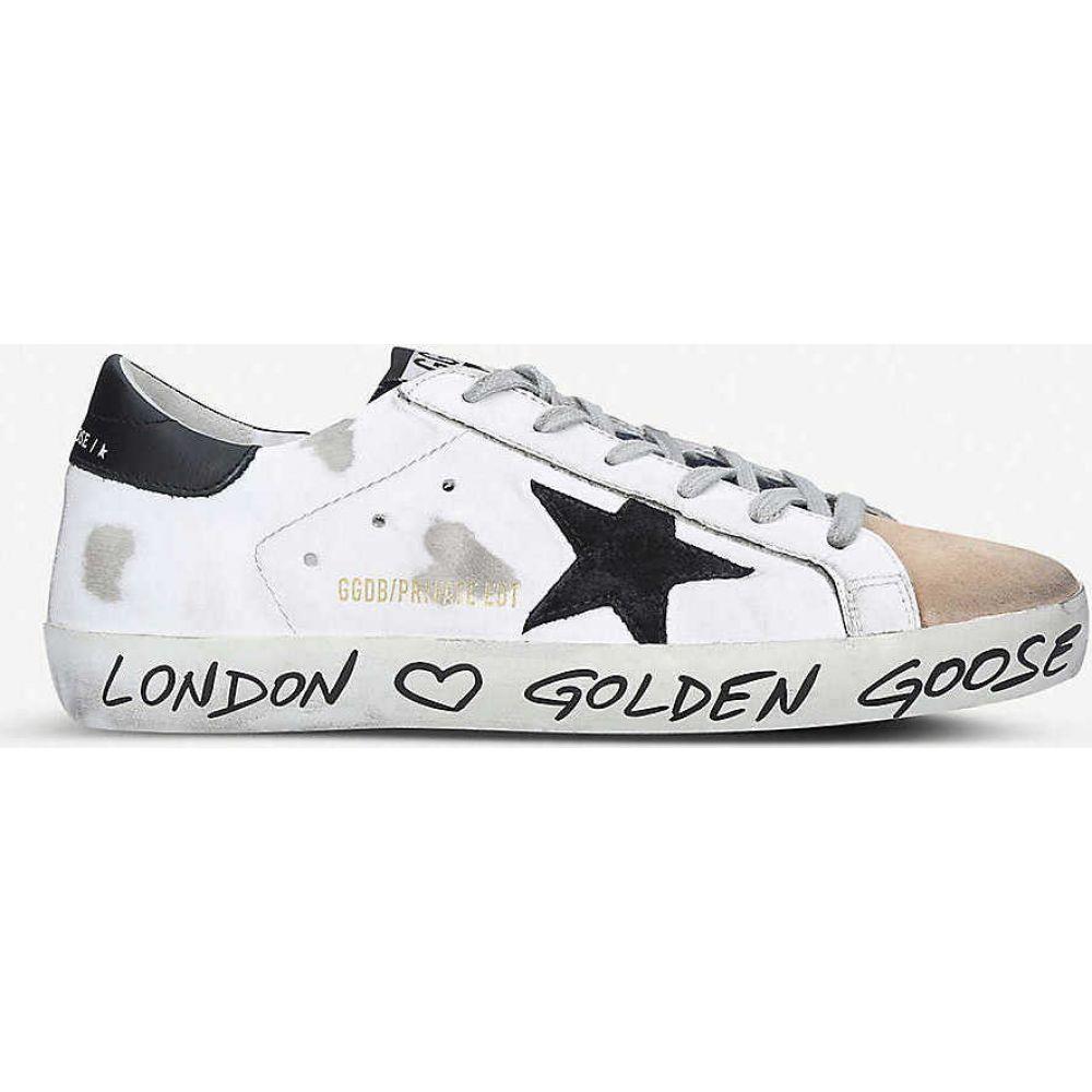 ゴールデン グース GOLDEN GOOSE レディース スニーカー シューズ・靴【Superstar Z14 star-embroidered leather trainers】WHITE/OTH