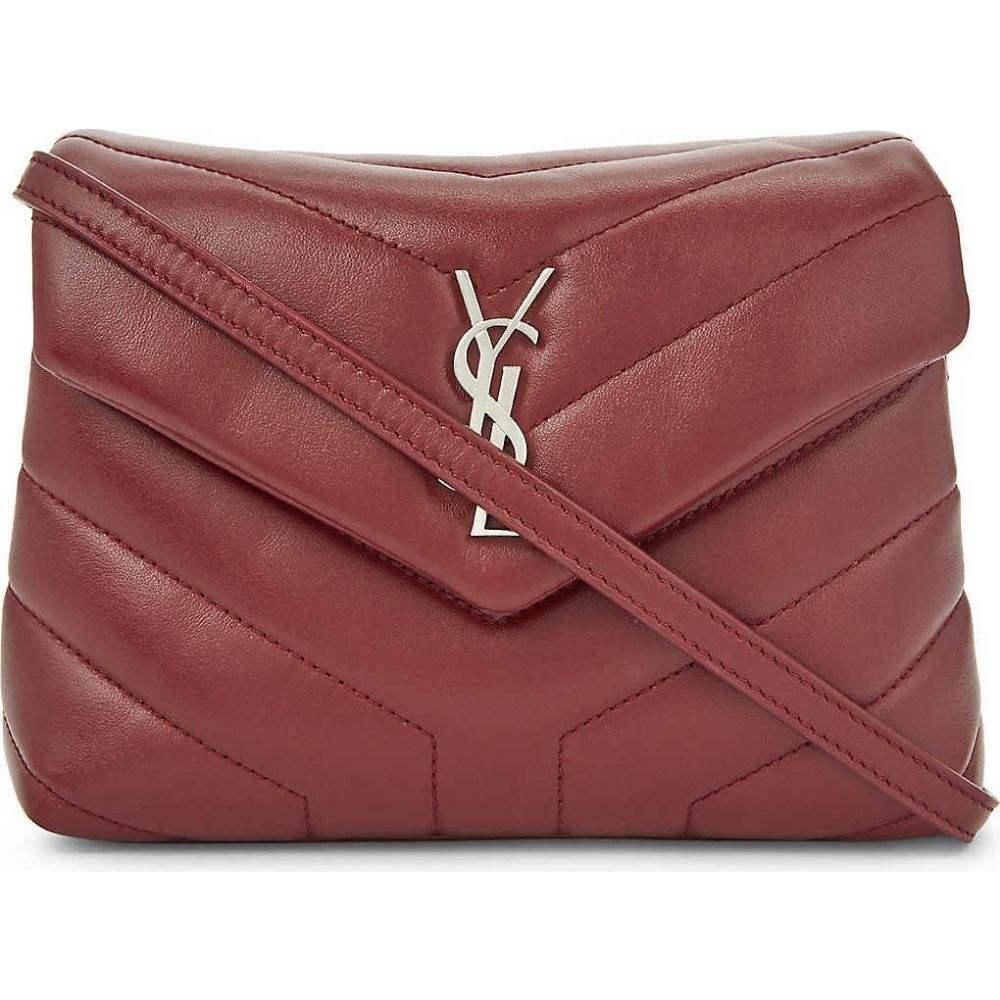 イヴ サンローラン SAINT LAURENT レディース ショルダーバッグ バッグ【Monogram Loulou quilted leather cross-body bag】PALLISANDRE