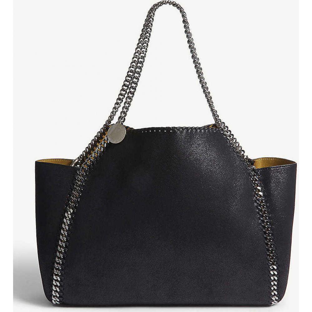 ステラ マッカートニー STELLA MCCARTNEY レディース ショルダーバッグ バッグ【Falabella faux-leather shoulder bag】BLACK YELLOW