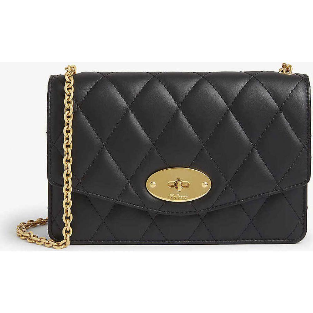マルベリー MULBERRY レディース ショルダーバッグ チェーンウォレット バッグ【Darley small leather wallet-on-chain】BLACK