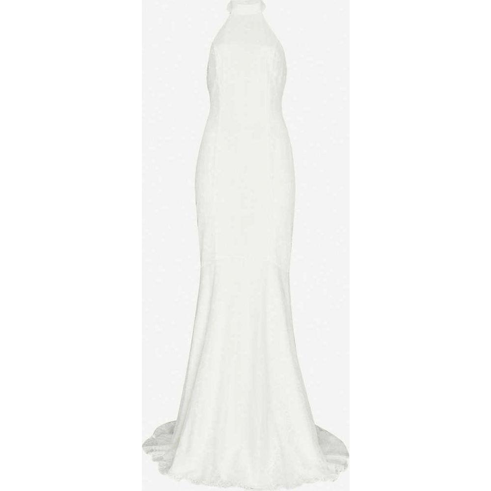 ホイッスルズ WHISTLES レディース パーティードレス ウェディングドレス ワンピース・ドレス【Maria halter lace wedding dress】CREAM
