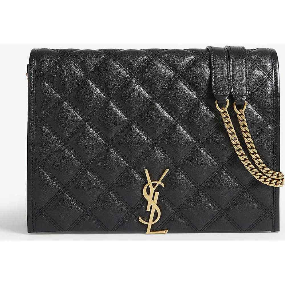 イヴ サンローラン SAINT LAURENT レディース ショルダーバッグ バッグ【Becky small leather shoulder bag】BLACK