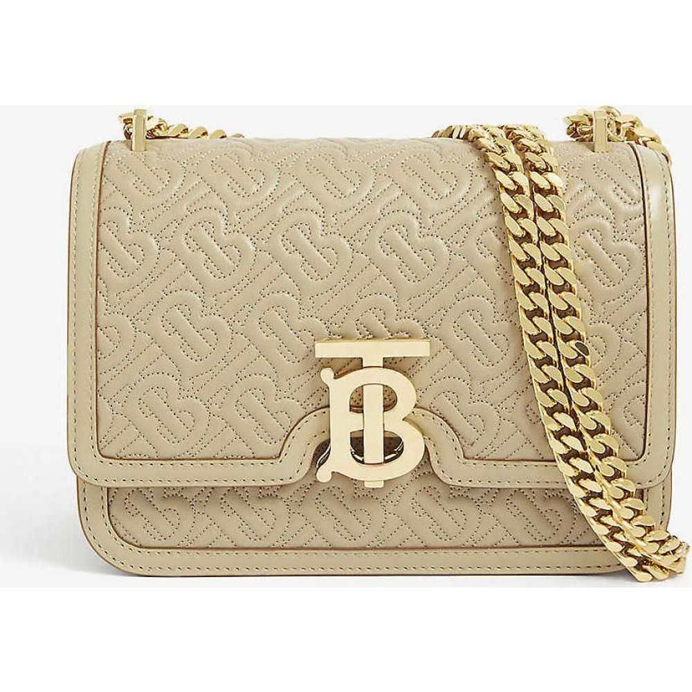 バーバリー BURBERRY レディース ショルダーバッグ バッグ【TB monogram small leather shoulder bag】Honey