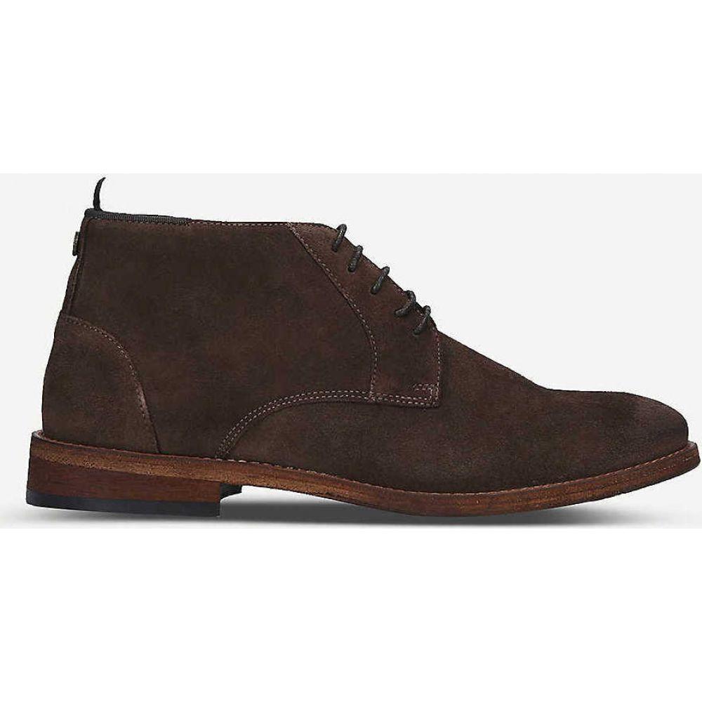 バブアー BARBOUR メンズ ブーツ チャッカブーツ シューズ・靴【benwell suede chukka boot】BROWN
