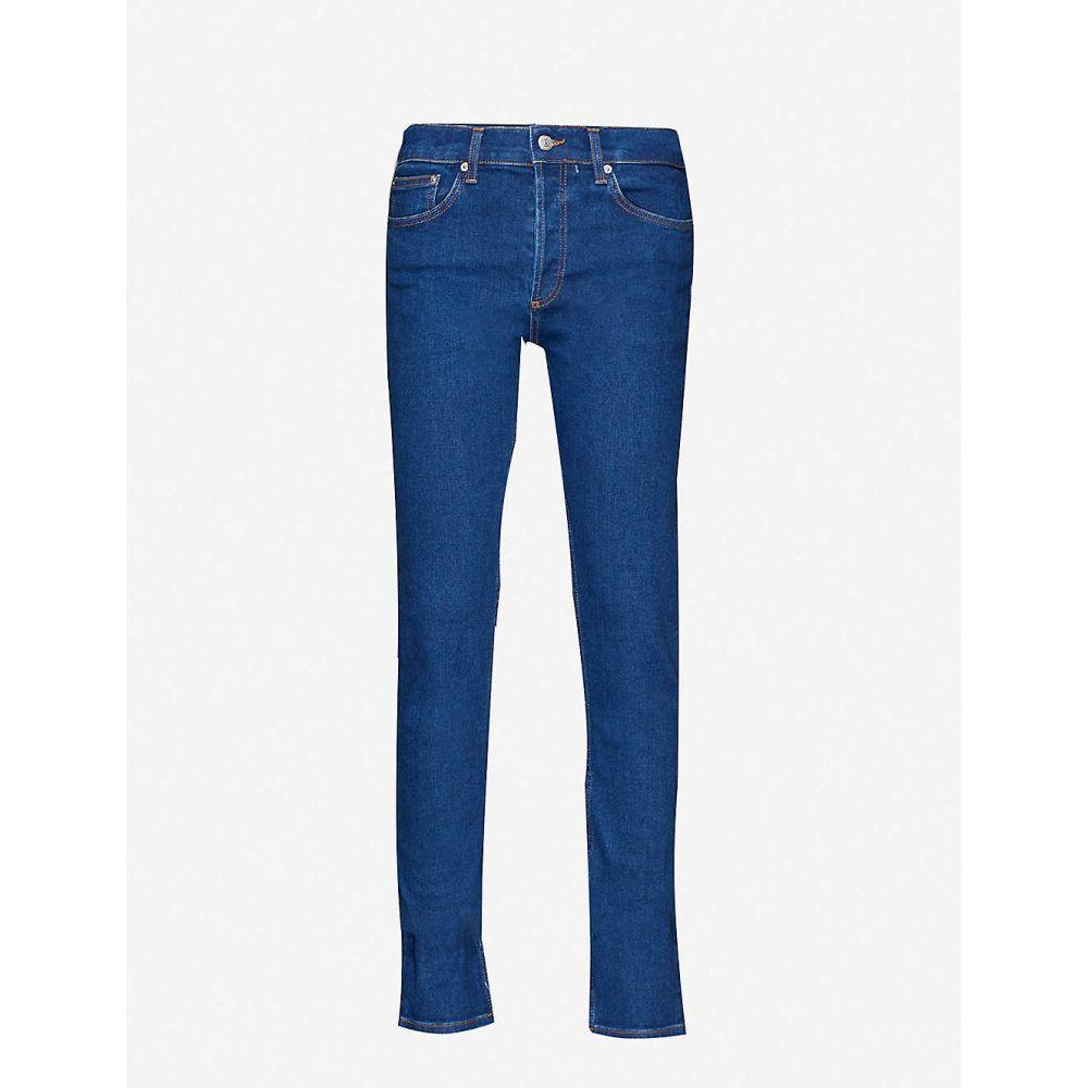 サンドロ SANDRO メンズ ジーンズ・デニム ボトムス・パンツ【mid-rise stretch-denim jeans】BLUE VINTAGE DENIM