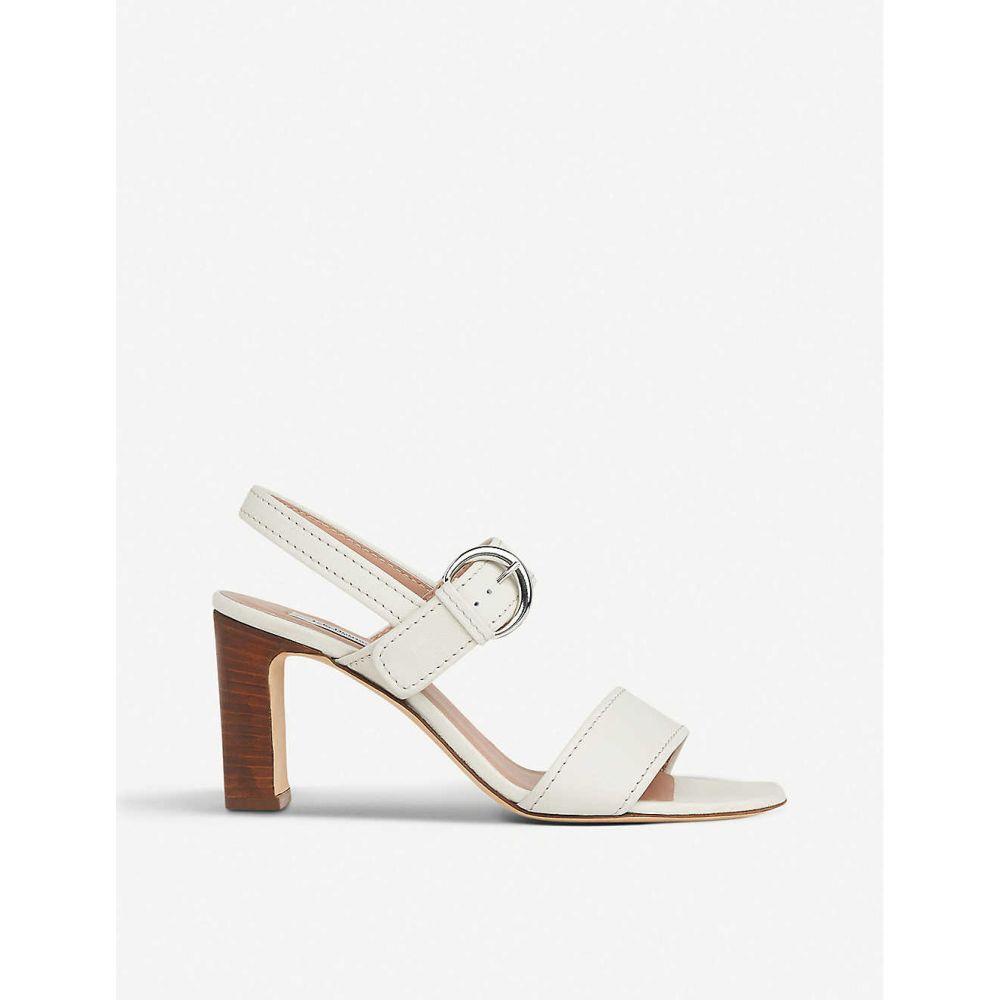エルケーベネット LK BENNETT レディース サンダル・ミュール シューズ・靴【natalie heeled leather sandals】WHI-OFF WHITE