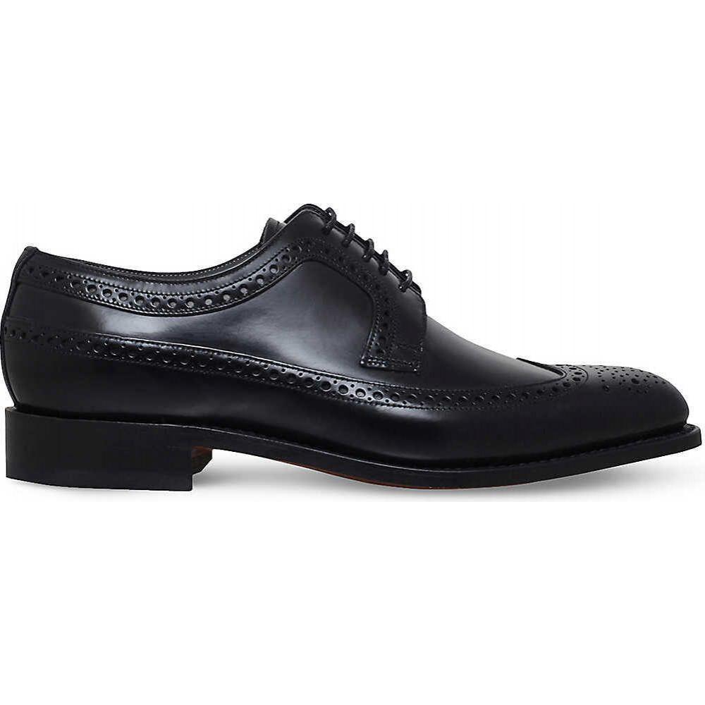 バーカー BARKER メンズ 革靴・ビジネスシューズ ダービーシューズ シューズ・靴【woodbridge leather derby shoes】BLACK