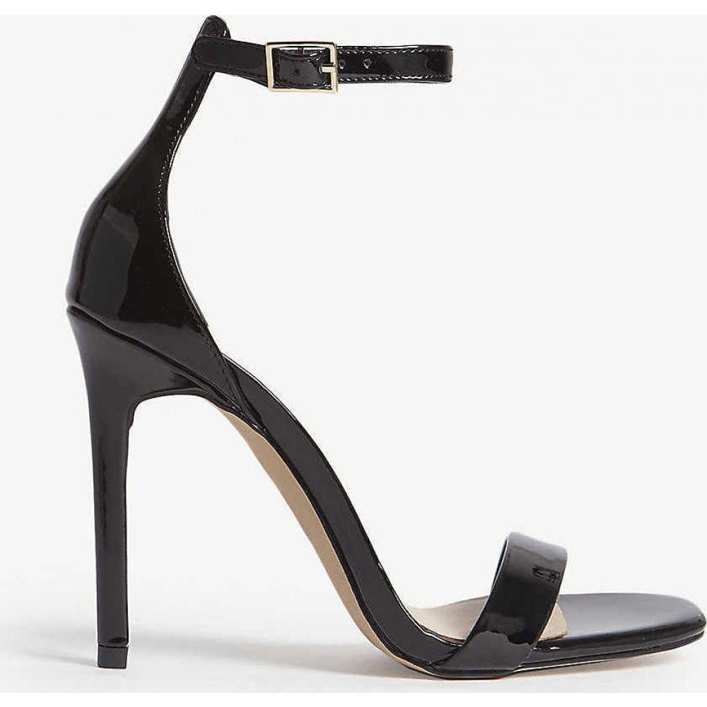 アルド ALDO レディース サンダル・ミュール アンクルストラップ シューズ・靴【derolila high ankle strap sandals】Black patent