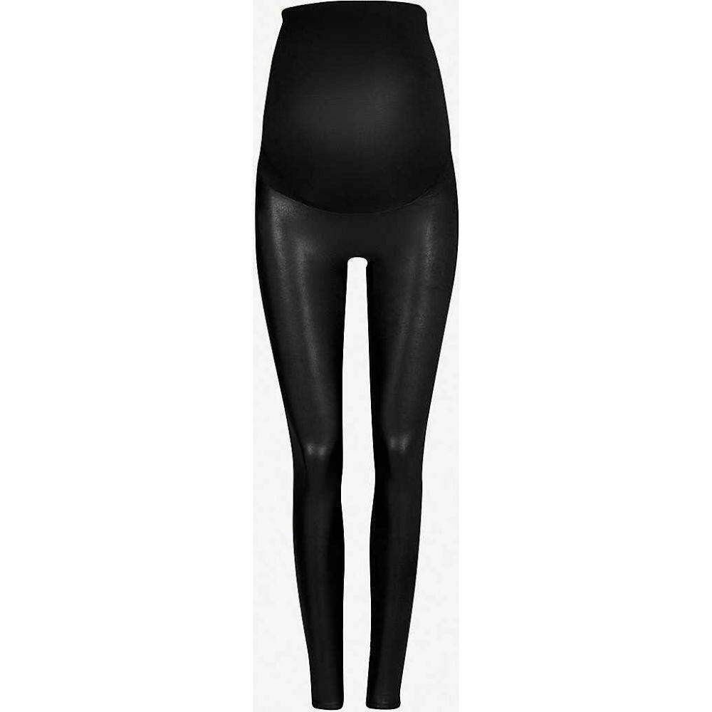 スパンクス SPANX レディース ボトムス・パンツ 【mama faux-leather leggings】Very black