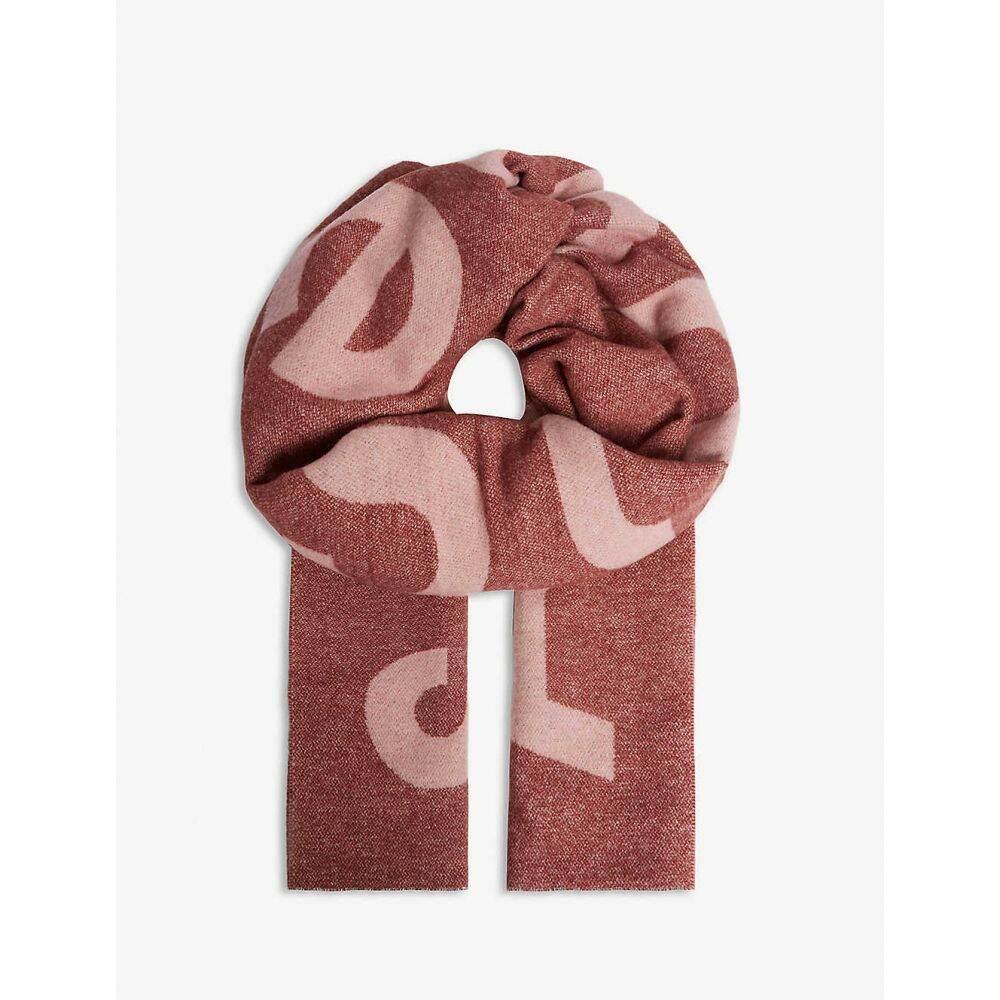 アクネ ストゥディオズ ACNE STUDIOS レディース マフラー・スカーフ・ストール 【toronty wool blend scarf】Pink/powder Pink