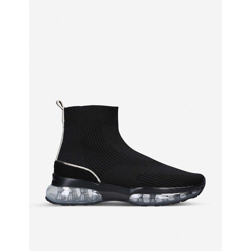カーベラ CARVELA レディース スリッポン・フラット シューズ・靴【link bubble sock trainers】BLACK