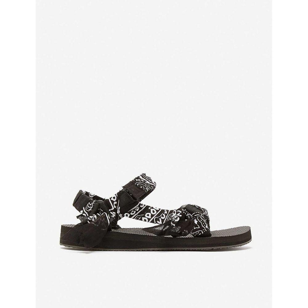アリゾナ ラブ ARIZONA LOVE レディース サンダル・ミュール シューズ・靴【trekky bandana woven sandals】BLACK