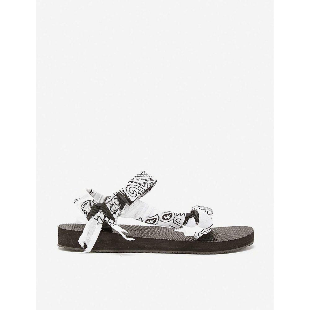 アリゾナ ラブ ARIZONA LOVE レディース サンダル・ミュール シューズ・靴【trekky bandana woven sandals】WHITE