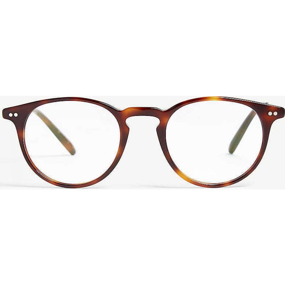 オリバーピープルズ OLIVER PEOPLES レディース メガネ・サングラス 【havana ryerson phantos-frame optical glasses】Havana