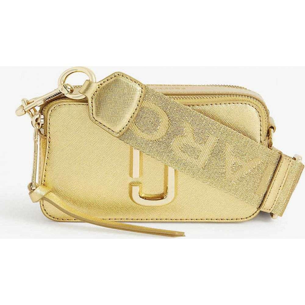 マーク ジェイコブス MARC JACOBS レディース ショルダーバッグ バッグ【snapshot metallic leather cross-body bag】Gold