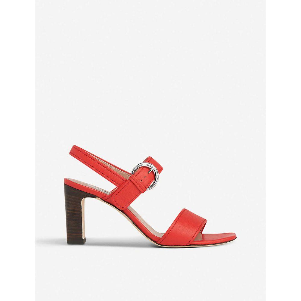 エルケーベネット LK BENNETT レディース サンダル・ミュール シューズ・靴【natalie heeled leather sandals】RED-RED