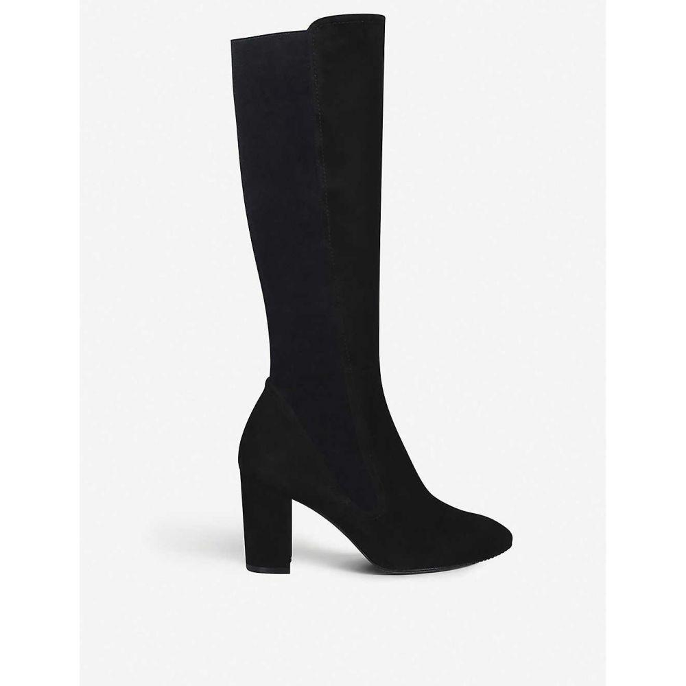 スチュアート ワイツマン STUART WEITZMAN レディース ブーツ シューズ・靴【livia suede boots】BLACK