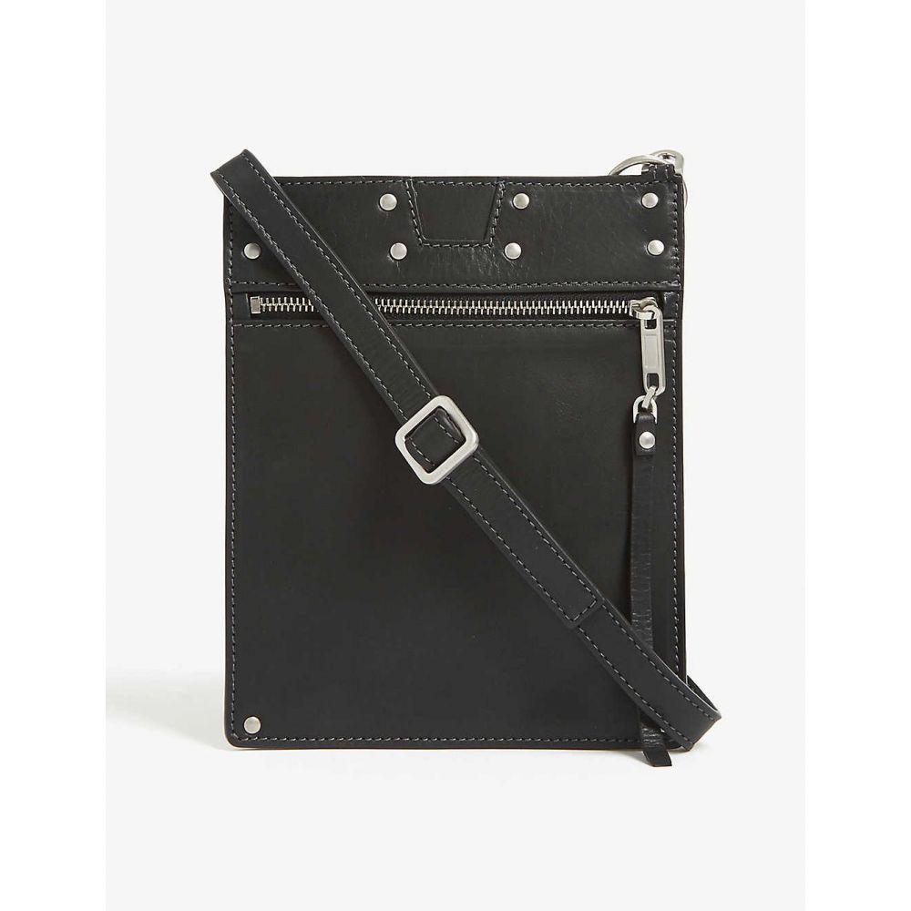 リック オウエンス RICK OWENS レディース ショルダーバッグ バッグ【leather security pocket pouch bag】BLACK
