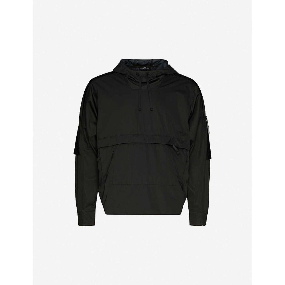 ストーンアイランド STONE ISLAND SHADOW PROJECT メンズ ジャケット シェルジャケット アウター【relaxed-fit shell jacket】BLACK