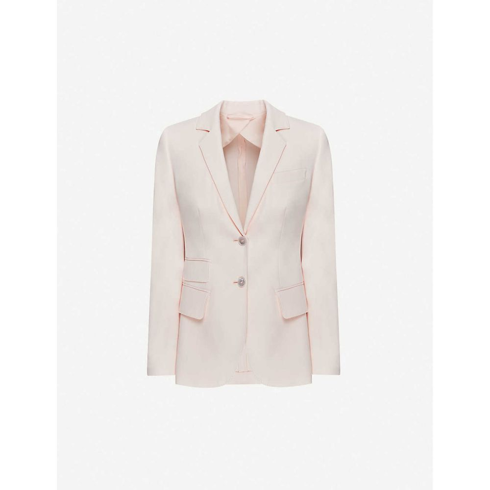 マックスマーラ MAX MARA レディース スーツ・ジャケット アウター【adele single-breasted cotton blazer】Rosa