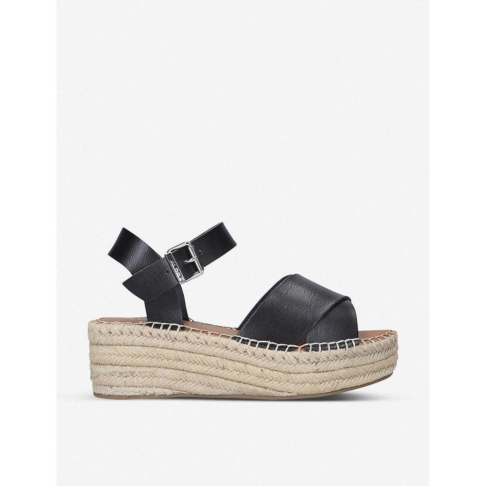 アルド ALDO レディース サンダル・ミュール シューズ・靴【Tineviel faux-leather platform sandals】BLACK