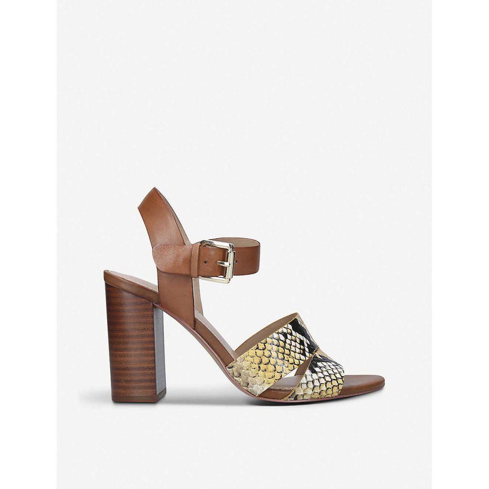 アルド ALDO レディース サンダル・ミュール シューズ・靴【Caparosa leather heeled sandals】YELLOW