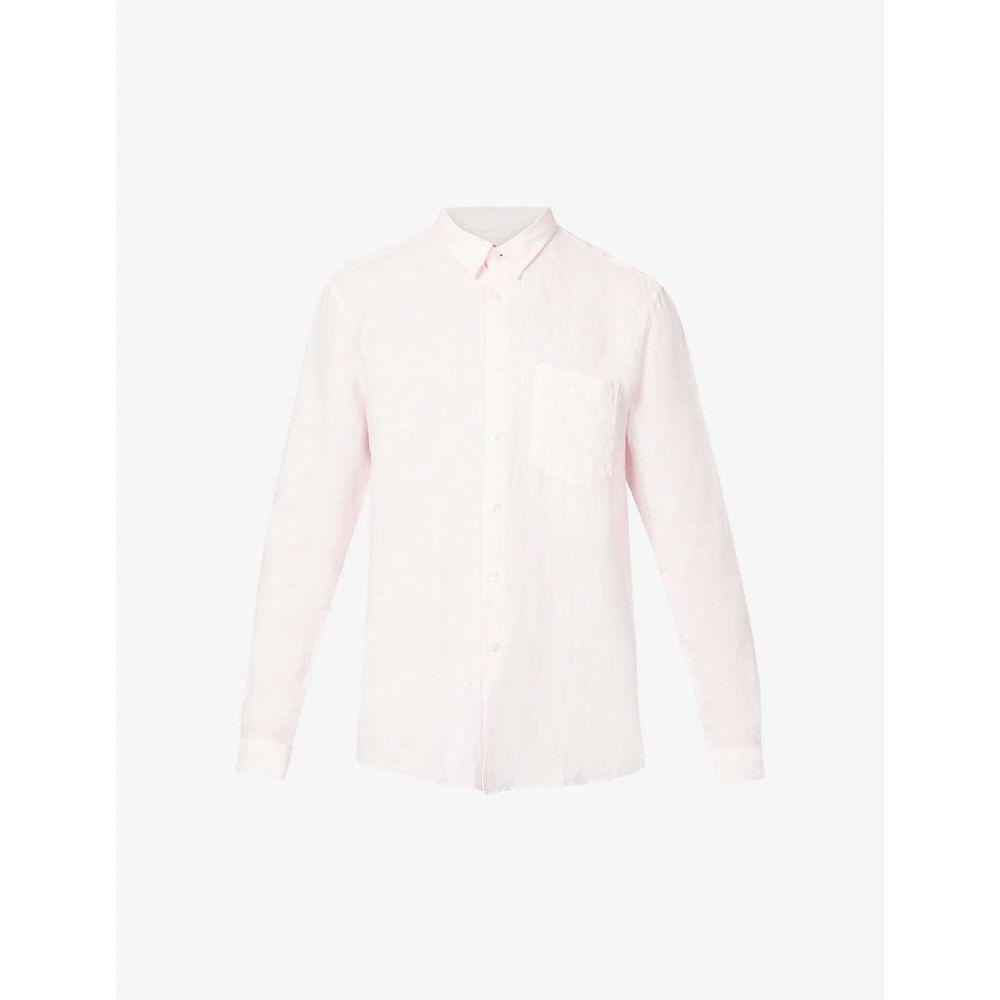 ヴィルブレクイン VILEBREQUIN メンズ シャツ トップス【Caroubis regular-fit linen shirt】BALLERINE