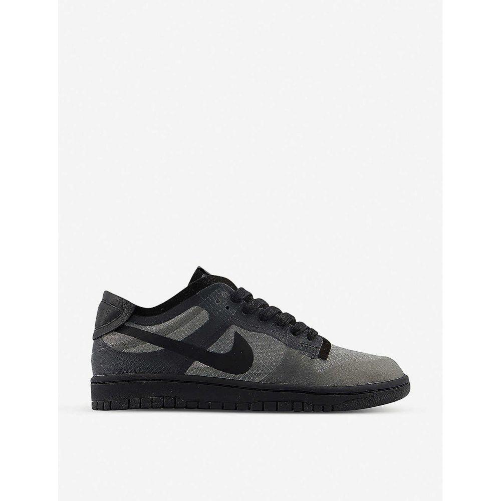コム デ ギャルソン COMME DES GARCONS メンズ スニーカー シューズ・靴【Comme des Garons x Nike Dunk mesh low-top trainers】BLACK TRANSPARENT F