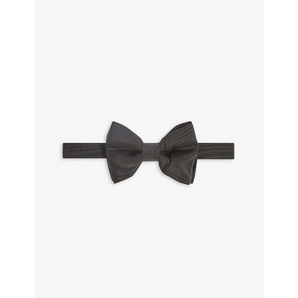 トム フォード TOM FORD メンズ 蝶ネクタイ 【Plain silk bowtie】BLACK