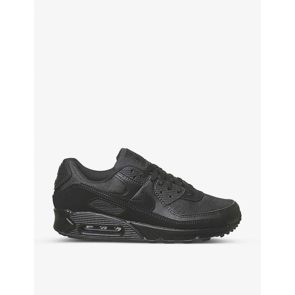 ナイキ NIKE メンズ スニーカー エアマックス 90 シューズ・靴【Air Max 90 leather and textile trainers】BLACK BLACK BLACK