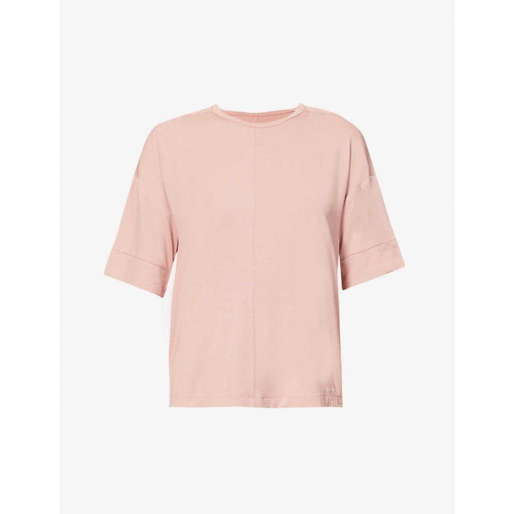 カルバンクライン CALVIN KLEIN レディース トップス 【Round-neck stretch-modal pyjama top】Abh Alluring Blush