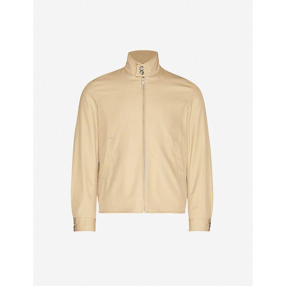 サンドロ SANDRO メンズ ジャケット アウター【Zipped cotton-twill jacket】BEIGE