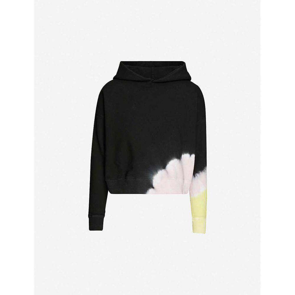メイシー ウイレム MAISIE WILLEN レディース パーカー トップス【Glow tie-dye cotton-jersey hoody】Spotlight
