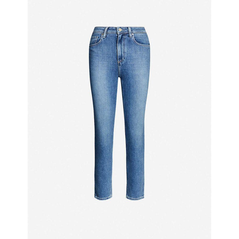 ペイジ PAIGE レディース ジーンズ・デニム ボトムス・パンツ【Sarah cropped straight high-rise jeans】Hot Toddy