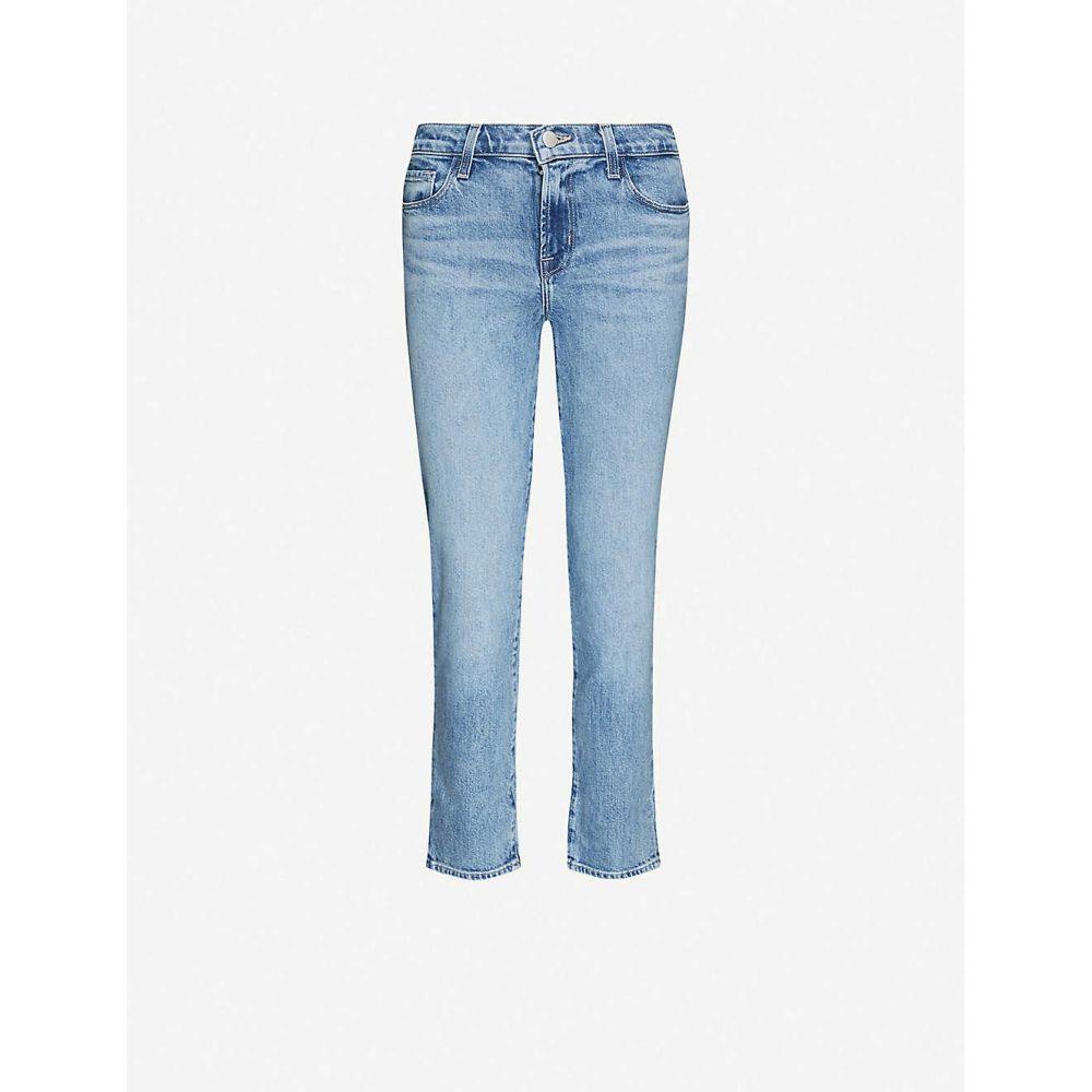 ジェイ ブランド J BRAND レディース ジーンズ・デニム ボトムス・パンツ【Adele straight-leg mid-rise stretch-denim jeans】Chadron
