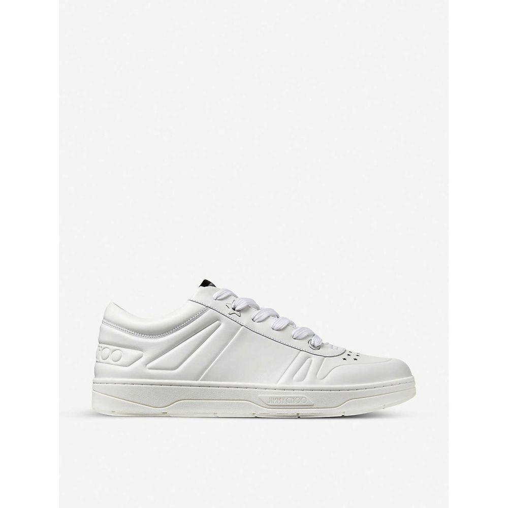 ジミー チュウ JIMMY CHOO レディース スニーカー シューズ・靴【Hawaii leather trainers】X WHITE