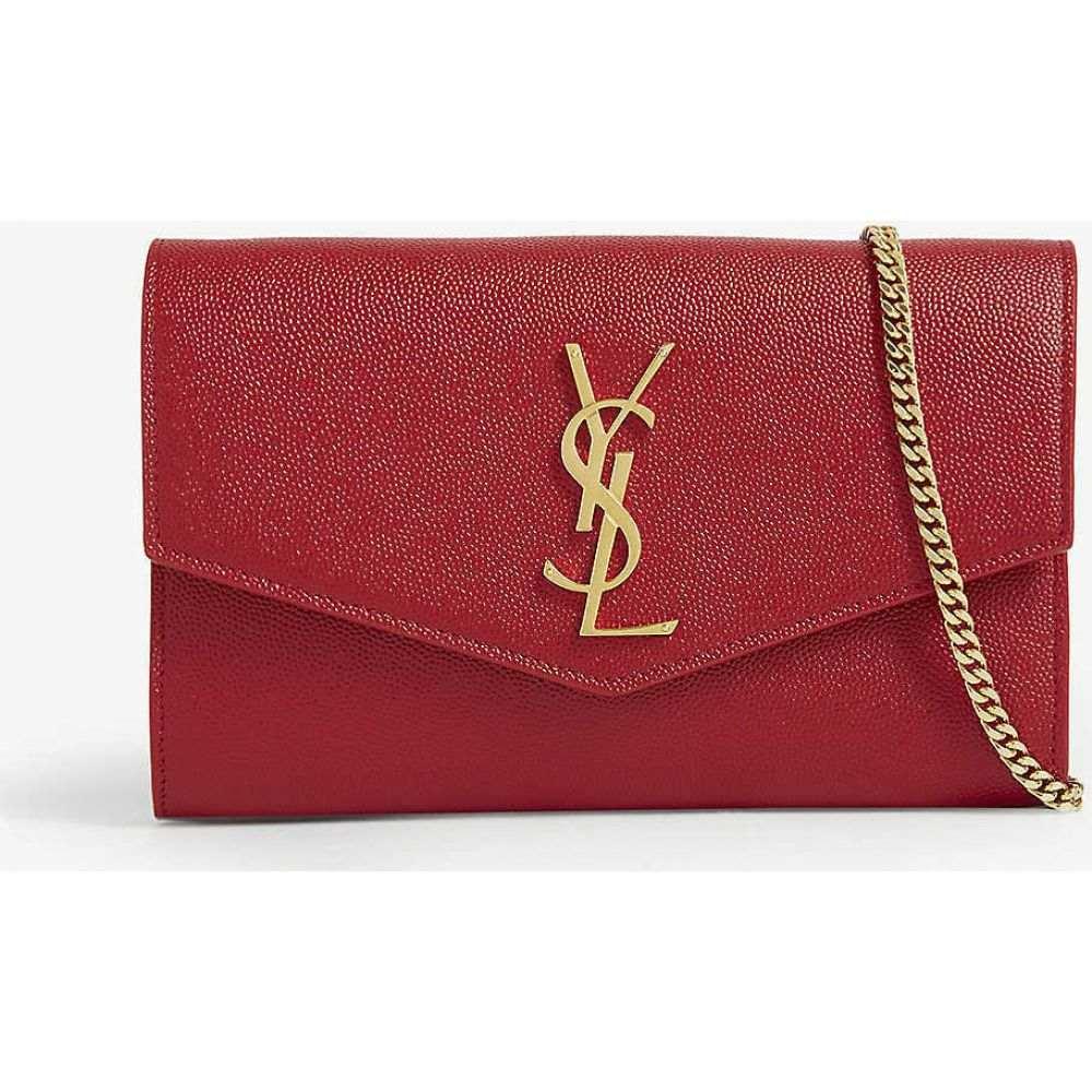 イヴ サンローラン SAINT LAURENT レディース ショルダーバッグ バッグ【Uptown leather shoulder bag】Rouge Eros