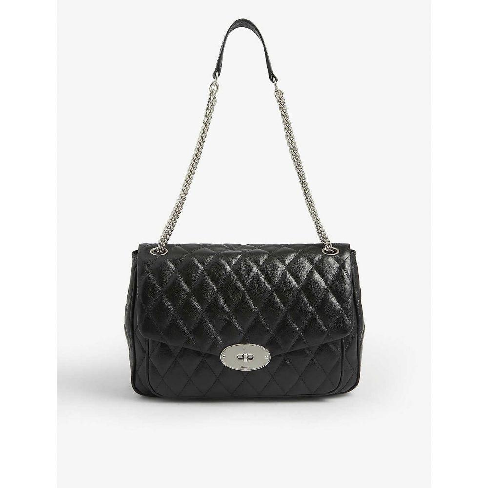 マルベリー MULBERRY レディース ショルダーバッグ バッグ【Darley quilted leather shoulder bag】BLACK