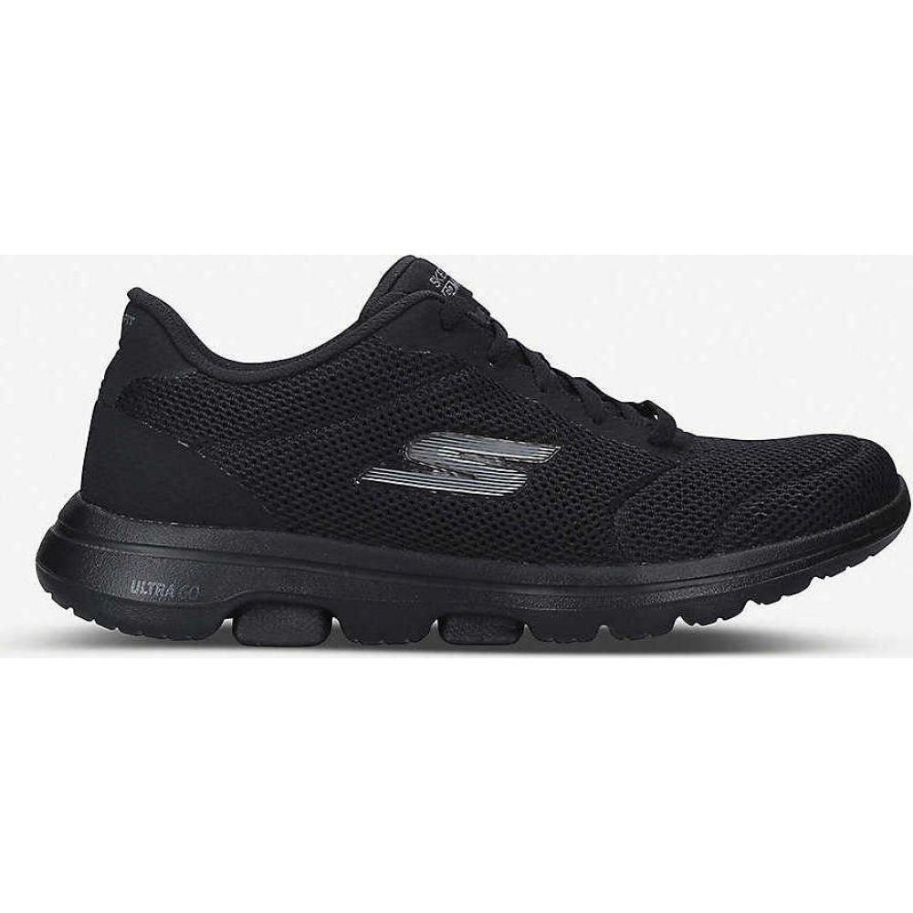 スケッチャーズ SKECHERS レディース スニーカー シューズ・靴【Go Walk Lucky nylon trainers】BLACK